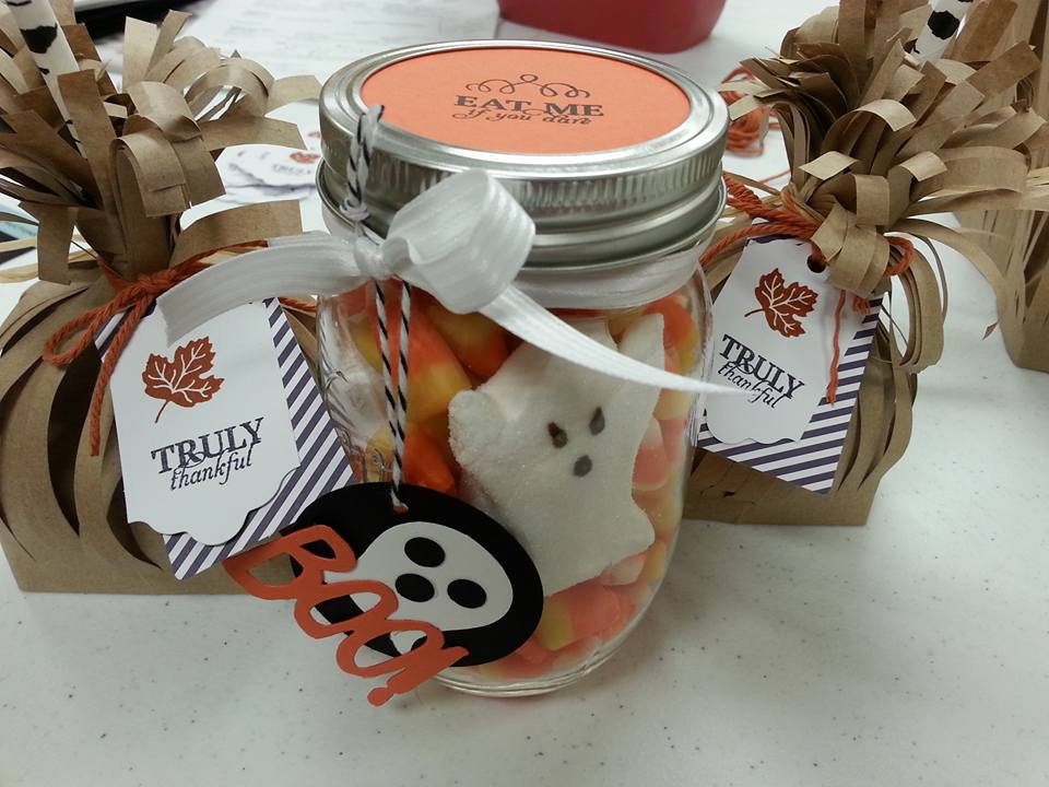 518 Candy Corn Guessing Jar October 31 2018 Stampahowlics